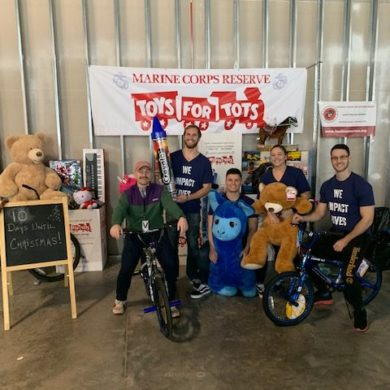 DC team supports Toys for Tots